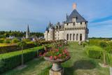 Langeais castle in the Loire Valley - France - 208107499