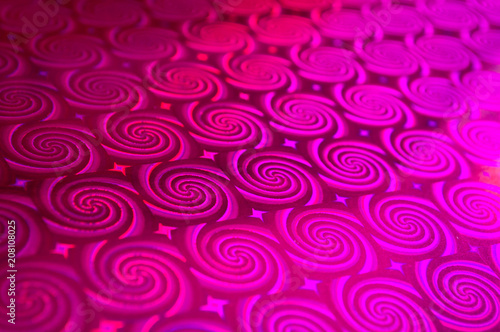 Abstract background with drawn ornament and blur - 208108025