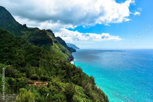 Napali Coast Kauai na Hawajach