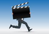 Cinéma - cap - film - présentation - concept - pancarte - présenter - affiche - symbole - 208118017