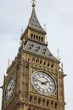 a beautiful photo of the clock of London's Big Ben Tower bell Tower, detail