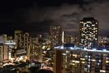 Waikiki Honolulu nachts