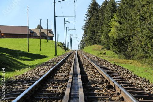 Fototapeta zahnradbahn3