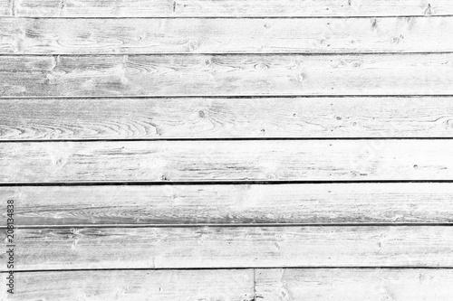 Holz Bretter Weiß - 208134838