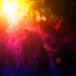 Leinwanddruck Bild - illustration of spot light