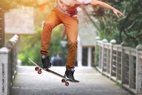 Fotobehang Skateboard Skateboard.