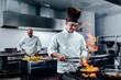 Leinwanddruck Bild - Creating a delicious dish