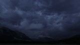 Dusk time lapse over Canmore skyline - 208179615