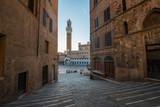 Piazza del Campo, Siena Tuscany - 208184218