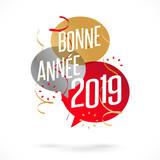 Bonne année 2019 - 208195269