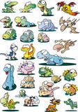 恐竜と爬虫類とモンスター