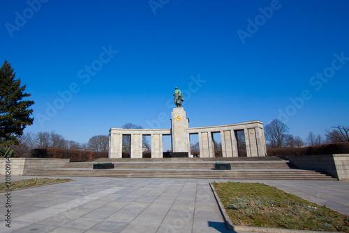 Fotobehang Berlijn Soviet War Memorial. It is one of several war memorials in Berlin