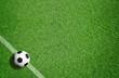 Leinwanddruck Bild - Fußball / Sport / Rasen