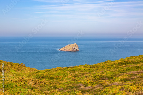 Canvas Honing Landscape on The Armor Coastline - Brittany, France