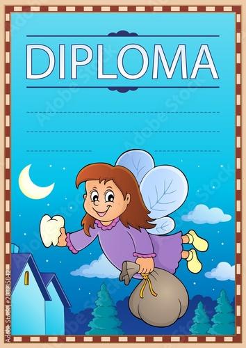 Canvas Voor kinderen Diploma template image 5