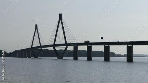 Fotobehang Bruggen Pont danemark