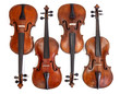 Old violins collection