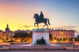 Place de Bellecour, Lyon - France - 208230079