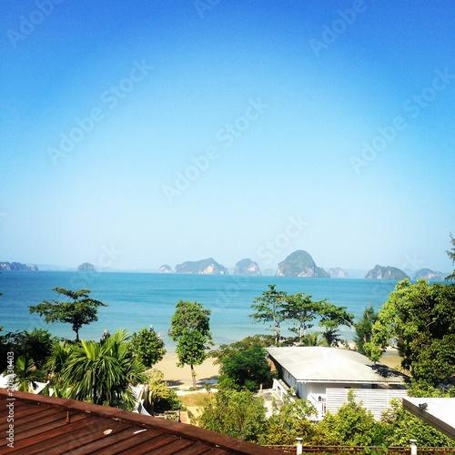 Plexiglas Tropical strand Beach holiday
