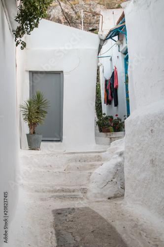 Anafiotika, Plaka, Athens, Greece © Vicky Markolefa