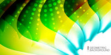 Geometric colorful abstract background - 208238497