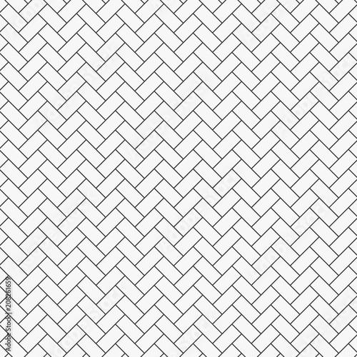 Herringbone Pattern Rectangles Slabs Tessellation Seamless Surface