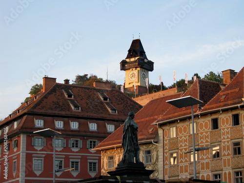 Foto Murales Grazer Uhrturm