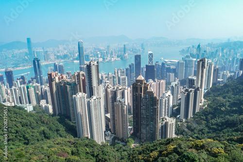 Hong Kong skyline © Fokke