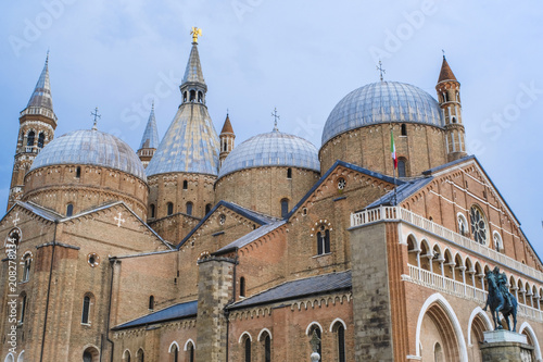PADOVA, ITALY - June, 6, 2018: Saint Anthony cathedral in Padova, Italy