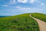 Beautiful Polonina Wetlina mountain trail