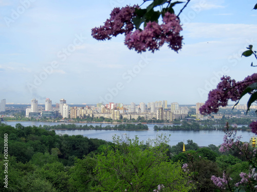 Aluminium Kiev views of Kiev from botanical garden
