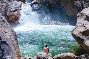 Refreshing waterfall © Martina