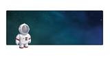 Astronauta en el espacio exterior - 208301659