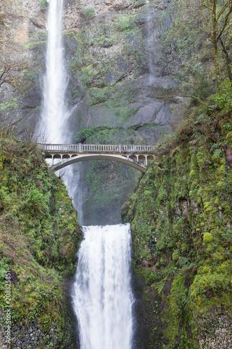 Old Bridge at Multnomah Falls