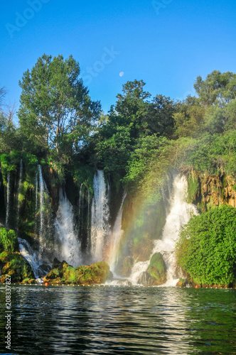 Kravica waterfalls, Studenci, Bosnia and Herzegovina. Summer 2018 - 208337827