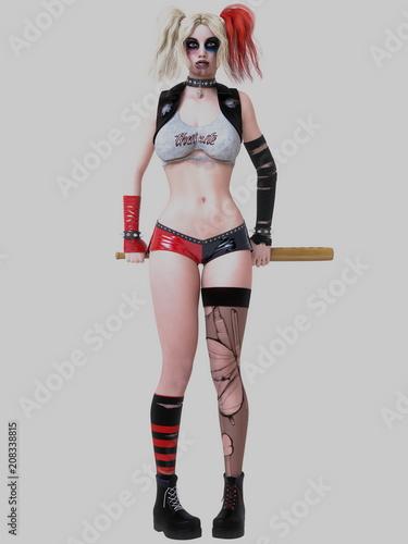 Adult Cicada Sexy Clown Girl Gallery