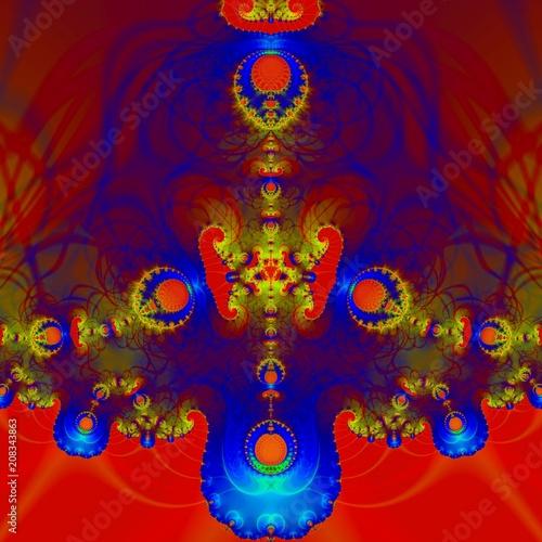 Fotobehang Abstractie Абстракция