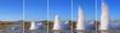 Leinwanddruck Bild - Strokkur Geyser eruption in sequence. Geothermal power, Iceland