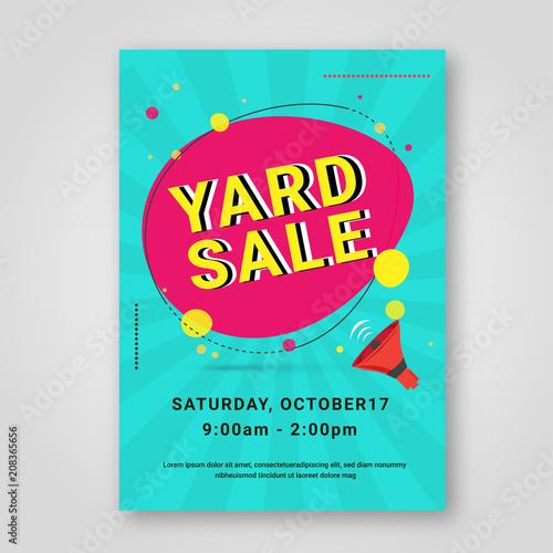 garage sale or yard sale vintage style poster buy photos ap