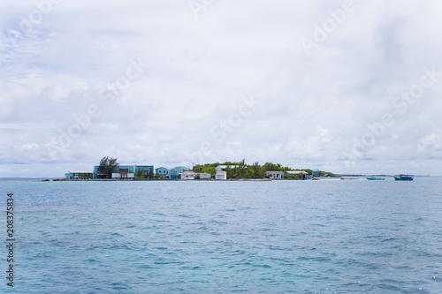 Poster モルディブ 島