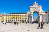 Place du Commerce de Lisbonne - 208380608