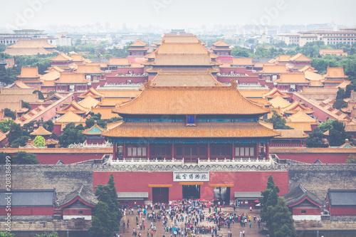 Fotobehang Peking The Forbidden City, Beijing, China.