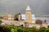 Front view of Ananuri castle, Georgia