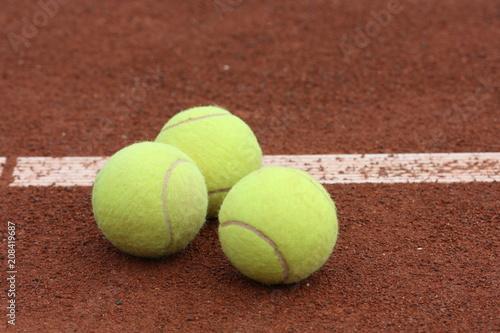 Fotobehang Tennis pilki do tenisa