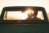Couple enjoying on a road trip - 208428604