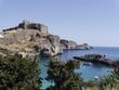 Grecja.wyspa Rodos. Lindos.zatoka św.Pawła