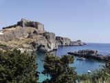 Grecja.wyspa Rodos. Lindos.zatoka św.Pawła - 208434098
