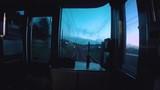 Time time lapse in Japan, riding biwako line to kyoto. - 208440223