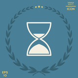 Hourglass time icon - 208446298