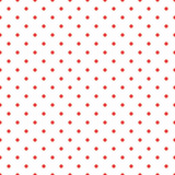 Red polka dot seamless pattern background